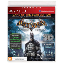 Game Batman Arkham Asylum Goty Ps3