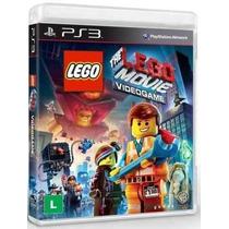 Jogo The Lego Movie O Video Game - Ps3 - Novo