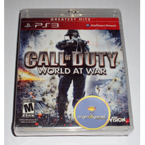 Call Of Duty World At War | Ação | Guerra | Ps3 | Original
