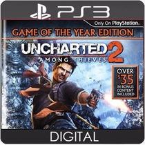 Uncharted 2 Among Thieves Ps3 Psn Mídia Digital Envio Hoje