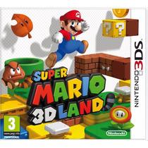Super Mario 3d Land Jogo Nintendo 3ds Original Lacrado