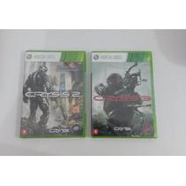 Combo Game Crysis 2 + Crysis 3 Originais Lacrados - Xbox 360