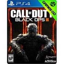 Call Of Duty: Black Ops Iii - Ps4 Primaria - C/ Garantia