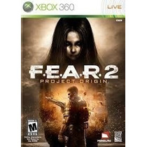 Dvd F.e.a.r. 2 Project Origin Fear Jogo Original Completo