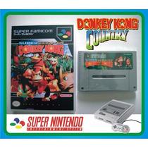 Cartucho Super Nintendo/famicom - Donkey Kong Country 1