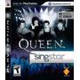 Queen Singstar Ps3 Original E Lacrado Necessário Microfones