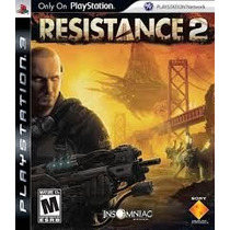 Resistance 2 Jogo Ps3 Usado