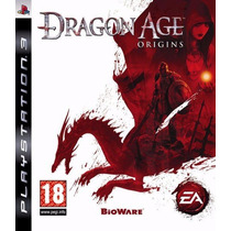 Dragon Age Origins Psn Ps3 Midia Digital Original