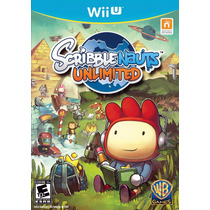 Jogo Game Scribblenauts Unlimited Wii U Pronta Entrega !!!