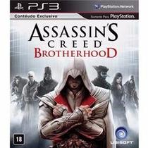 Assassins Creed Brotherhood Ps3 - Original, A Pronta Entrega