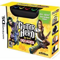 Guitar Hero On Tour Decades Com Teclado P/ Nintendo Ds A6073