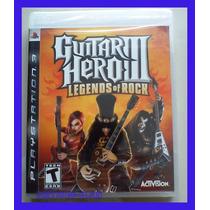 Guitar Hero 3 Ps3 Legends Of Rock Playstation Lacrado Orig