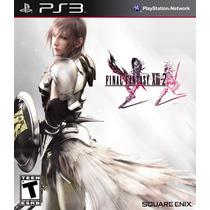 Jogo Ps3 Final Fantasy Xiii 2 Original Lacrado Mídia Física