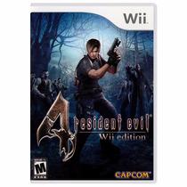 Resident Evil 4 Wii Lacrado Mídia Física Novo + Brinde