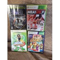 Jogos Diversos Para Xbox 360 - Sonic, Nba, K.sports, Namco