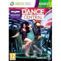 Dance Central X360 Kinect Original Novo Entrego Zsulrj