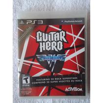Guitar Hero Van Halen Ps3 Midia Fisica Envio Imediato