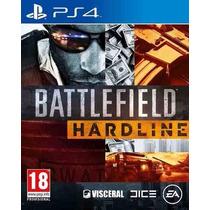 Battlefield Hardline Ps4 Secundária Português/br