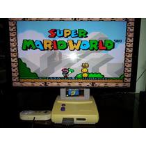 Cartucho Super Mario World Para Super Nintendo Original