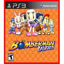 Bomberman Ultra Ps3 Psn Jogo Original Promocao!!