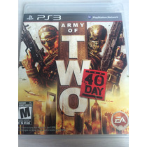 Army Of Two The 40 Day Para Ps3 Novo