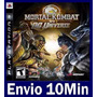 Mortal Kombat Vs Dc Universe Ps3 Código Psn