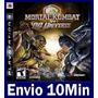 Mortal Kombat Vs Dc Universe Ps3 Código Psn