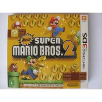 New Super Mario Bros 2 Nintendo 2ds 3ds Novo Lacrado Luva