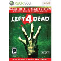 Left 4 Dead - Xbox 360 - Pronta Entrega!