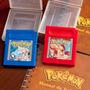 Pokémon Red E Blue C/ Manual - Original Gameboy Salvando