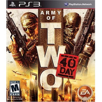 Army Of Two: The 40th Day - Playstation 3 - Midia Física