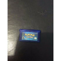Jogo Original Americano Pokemon Sapphire Gameboy Advance Gba