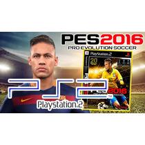 Dvd Jogo Pro Evolution Soccer 2016 Ps2