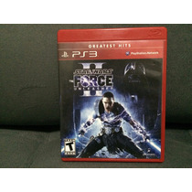 Jogo / Game Ps3 - Star Wars The Force Unleashed 2