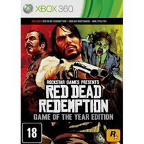 Jogo Red Dead Redemption: Game Of The Year Edition - Xbox 36