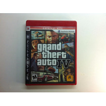 Gm20 Gta 4 Grand Theft Auto Iv 4 Game Jogo Ps3