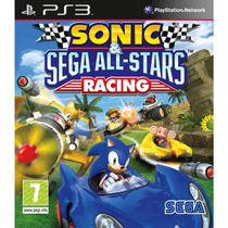 Sonic Sega All-stars Racing Para Ps3 Midia Novo Lacrado