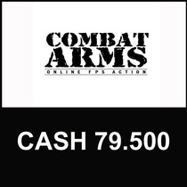 Combat Arms - Cartão De 79.500 Cash - Level Up - Online!