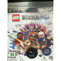 Lego Rock Band Para Ps3 Novo Lacrado Pronta Entrega!