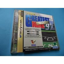 Greatest Nine 97 Original Sega Saturn