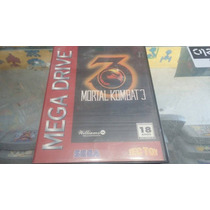 Mortal Kombat 3 - Original - Mega Drive