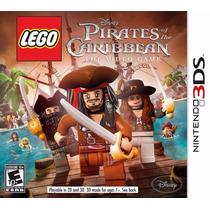 Lego Pirates Of The Caribbean - Piratas Do Caribe - 3ds