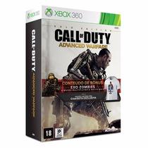 Jogo Call Of Duty Advanced Warfare Gold Edition Xbox 360