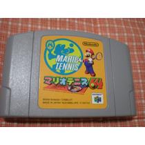 Mario Tennis Nintendo 64 N64 Original Versão Japonesa!