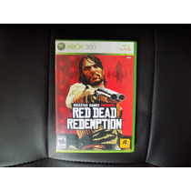 Red Dead Redemption - Xbox 360 - Original - Usado
