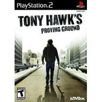 Tony Hawks Proving Ground Ps2 Patch Com Capa E Impressão