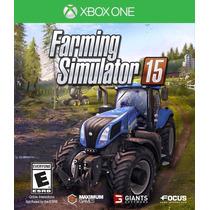 Jogo Novo Lacrado Farming Simulator 15 Para Xbox One
