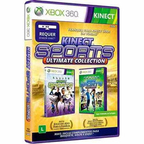 Jogo Kinect Xbox 360 Sports Ultimate Collection + Frete