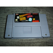 Snes Super Nintendo Exertainment + Speed Racer R++++