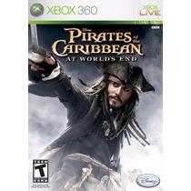 Piratas Do Caríbe - Pirates Caribbean - Xbox 360 Sem Manual